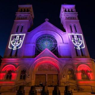 Lighting Design Students Illuminate Architecture Of